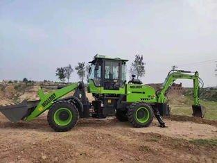 Groene 1.2cbm 2 Tonmz40-45 Multifunctionele Backhoe Lader