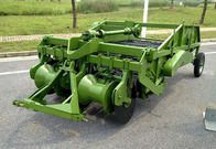 Three Point Hitch Connection Gear Drive Potato Harvester with 2 Working Rows Hoe Type