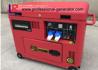 Silent 6kVA Portable Diesel Fuel Generator with Controlled Constant Operation 4 Cycle