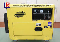 AC Single Phase 5kVA Small Diesel Generator with 17L Fuel Tank , Apollo 24Ah