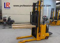Multifunctional Hardness Iron Warehouse Material Handling Equipment Electric Pallet Forklift