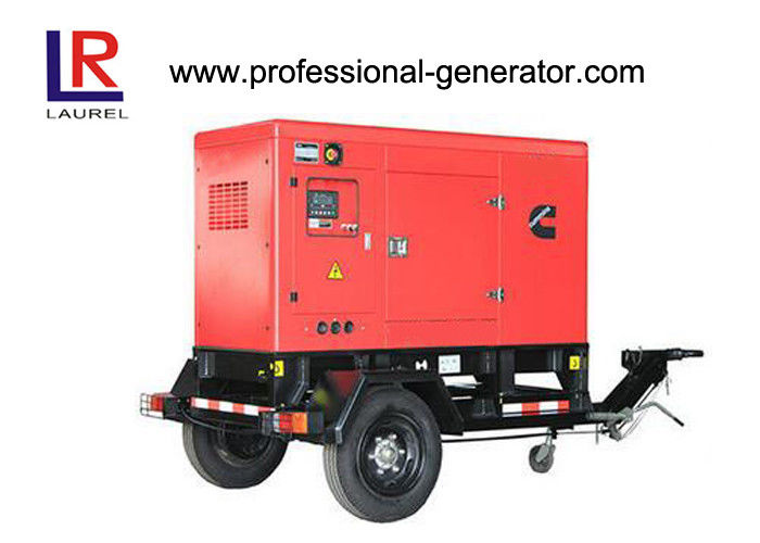 High Performance 500kw Mobile Diesel Generator with Deepsea Controlller Soundproof