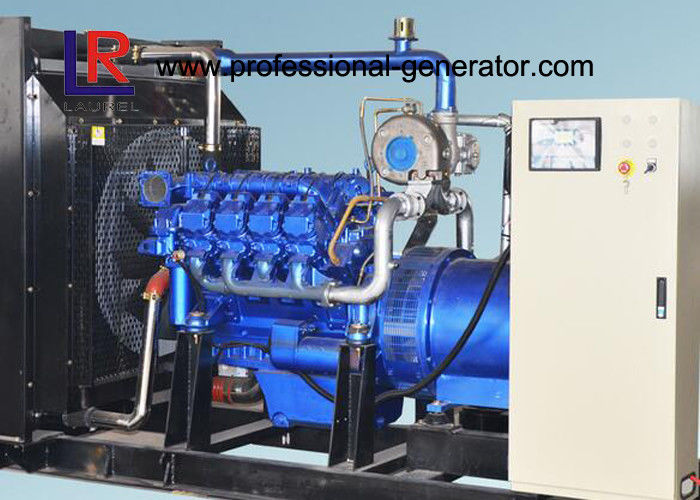 Advanced 6 Cylinder 100kw Producer Natural Gas Generators CE Approved Low Consumption
