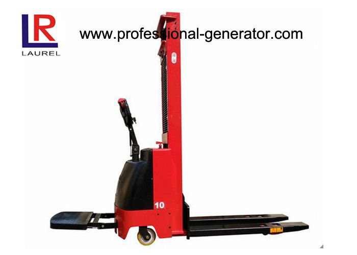 CE Warehouse Material Handling Equipment 1 Ton Electric Stacker Battery Drive