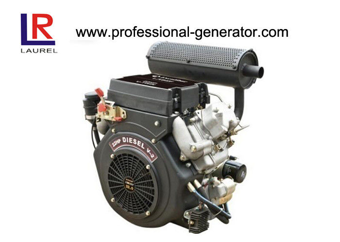 Four Stroke 20HP Air Cooled 0.836 Electric Diesel Engine