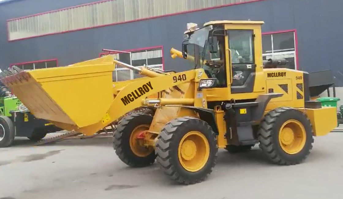 Yun Nei Engine Heavy Construction Equipment SDLG933 LZ940 Wheel Boom Loader