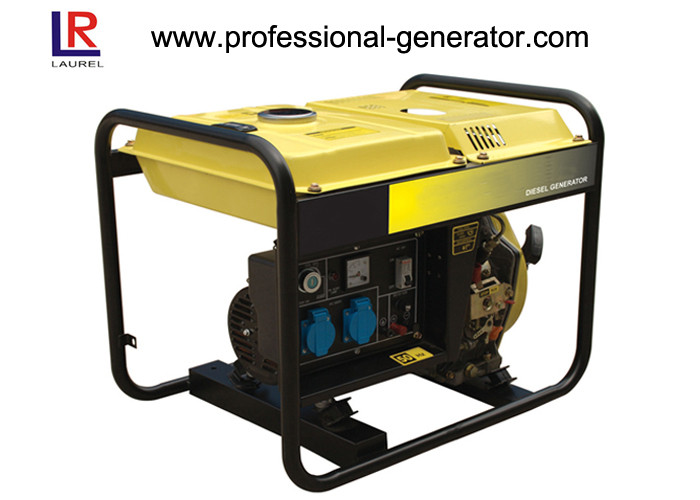 4 - Stroke 2.2 Kw Air cooled Diesel Fuel Generator Recoil Start