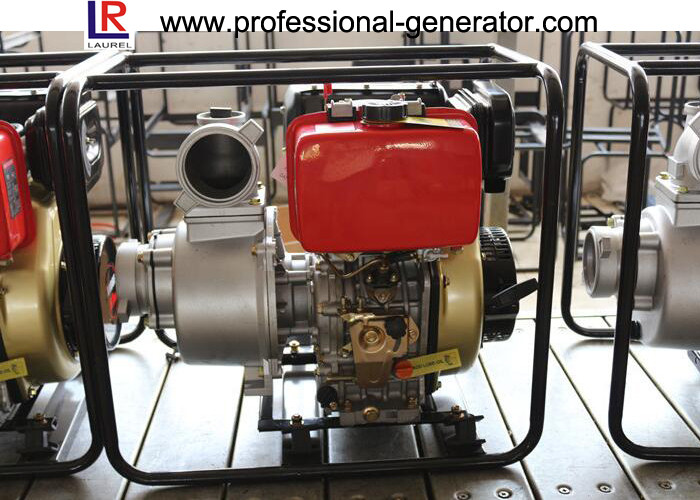 3 Inch Single Cylinder Diesel Agricultural Water Pump Self - Priming Centrifugal