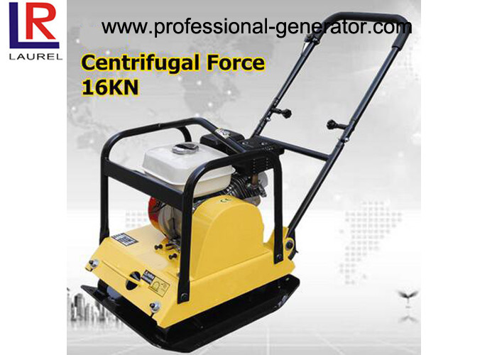Asphalt Ground Compactor Hire , CE Gasoline Vibro Compactor Machine 65 - 90 kg Weight