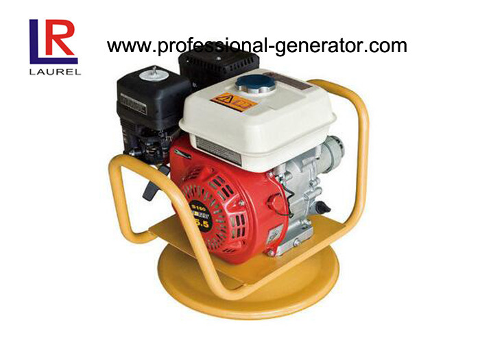 5.5HP Gasoline / Petrol Vibratory Plate Compactor With Vibrator Hose Shaft