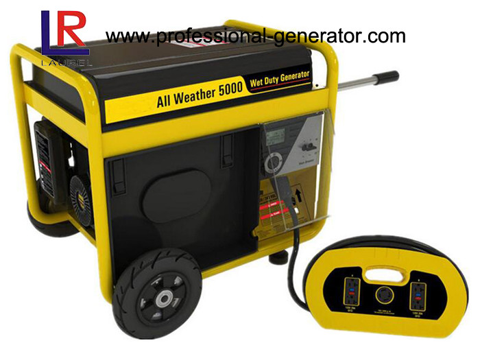 Single Phase Power Generator 5kVA 8.8HP with Diesel Engine , 4 - Stroke Single Cylinder