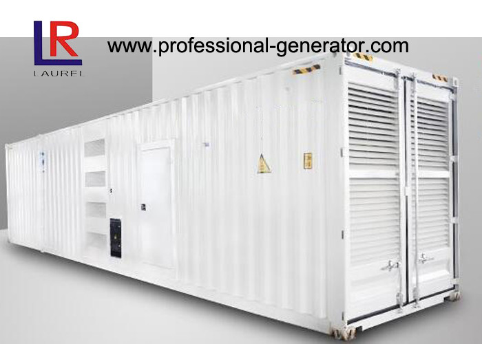 Silent Diesel Container Generator 800kw 1000kVA in 60HZ with Cummins KTA38 - G2 Engine