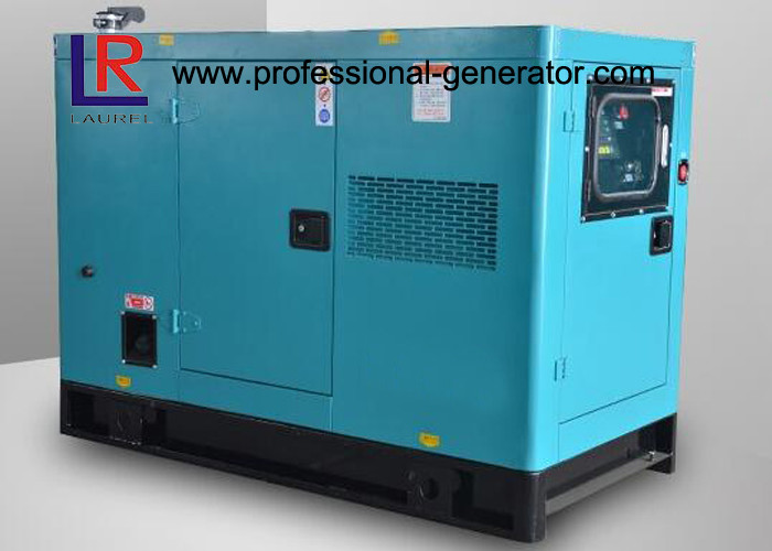 15kVA Silent Diesel Generator Soundproof Canopy with  Cummins Engine 400V / 230V