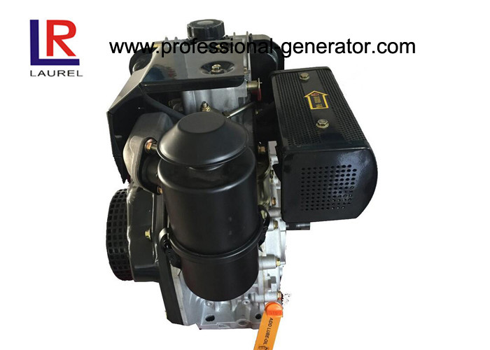 Stable Running Air Cooled Engine 6HP Diesel Engine with Vertical Pressure Splashed
