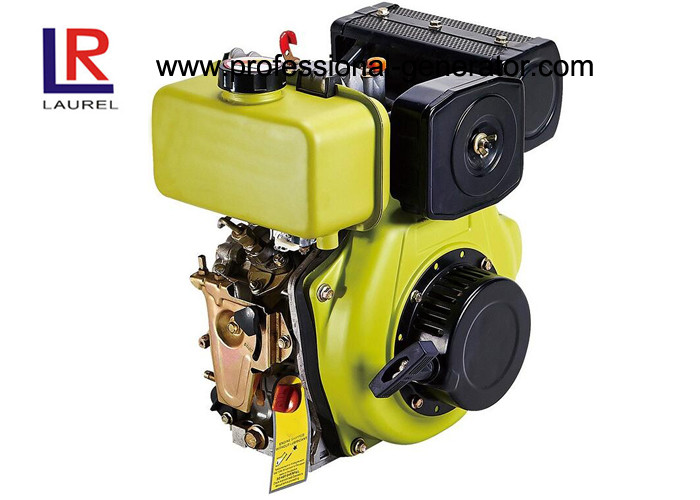 3600RPM Single Cylinder 6.4HP Air - cooled Diesel Engine with Direct Injection Combustion