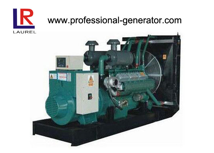 Professional Remote Control Panel Open Diesel Generator Set Water Cooling 15kW 20KVA