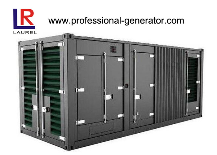 1mw Diesel Container Generator Set Powered By Cummins Engine Water Cooled