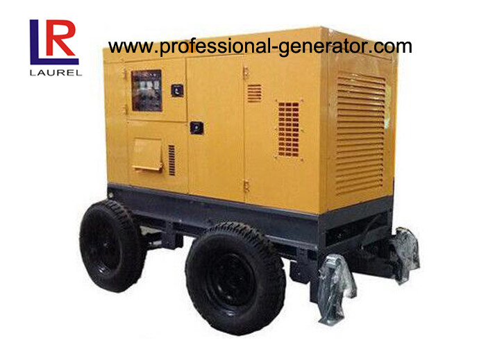 Small Size Cummins Diesel Generator Set Movable 20kVA Water-cooled