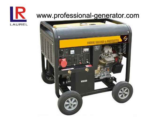 Open Type 10kw Portable Diesel Power Generator with Double Cylinder