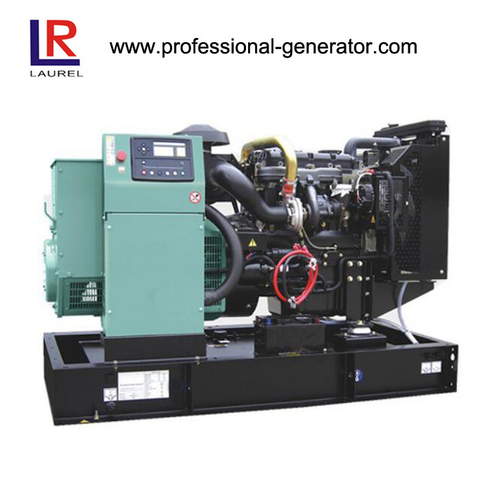Air Natural Aspiration 7kw 9kVA Electrical Open Diesel Generator with Perkins Engine