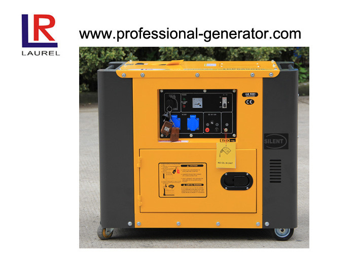 Single or Three phase 4.5kw Diesel Generators Silent type Electric Start with Remote control