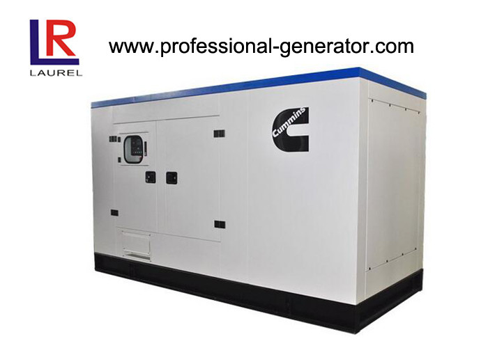 250kVA Silent Diesel Engine Cummins Generator 200kw with Four Stroke In - line Self - exciting