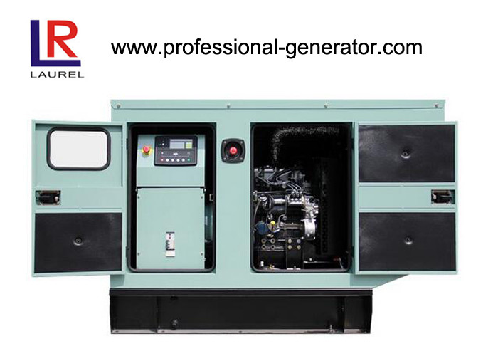 Silent Type Perkins Diesel Generating Set with Four Stroke Air Natural Aspiration 10kw 13KVA