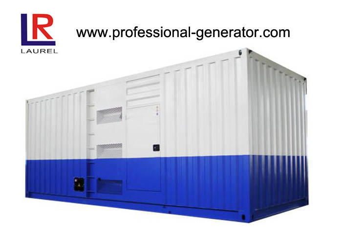 1250Kva High Voltage 1000kw Soundproof Diesel Generator at 60HZ with Water Cooling Cycle