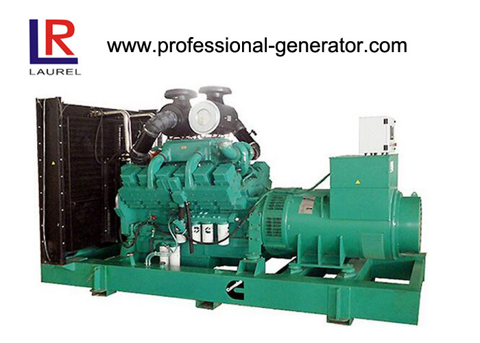 1000kVA 800kw Diesel Cummins Power Generator With Multiple Paralleling Turbo Charged