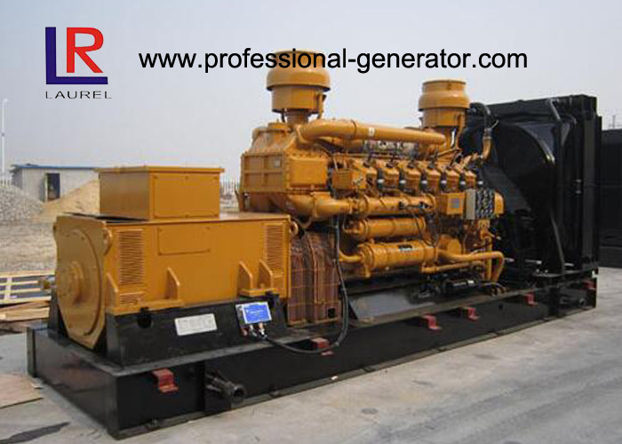 New AC Three Phase 10 - 1000kw Natural Gas Generator Set with Heat Exchanger