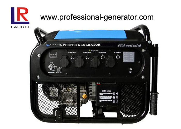 Single Phase 6.5kw Industrial Portable Inverter Gasoline Mini Camping Generator