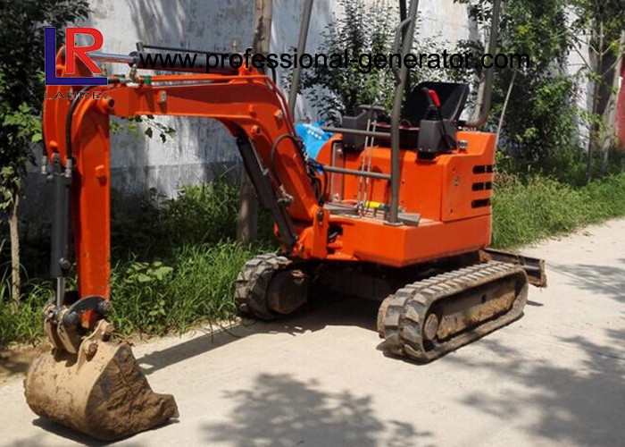 1800kgs Walk Behind Mini Excavator with Cabin / Full Hydraulic Digging Machine