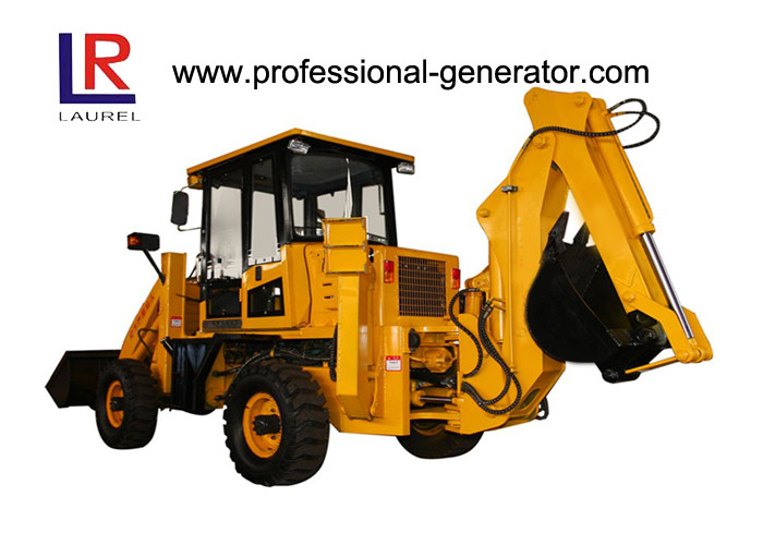 Large Heavy Construction Machinery , 2800kg Medium Backhoe Wheel Loader