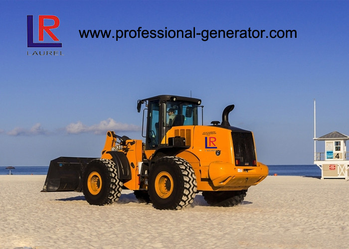 OEM Heavy Construction Machinery , 3000kg bucket Wheel Loader