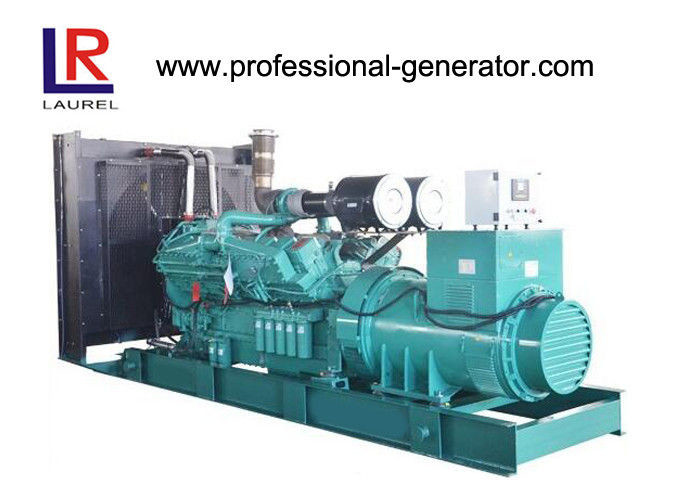 800KW 3 Phase Open Diesel 24V DC Generator Water Cooling Precise Electrical Governor System